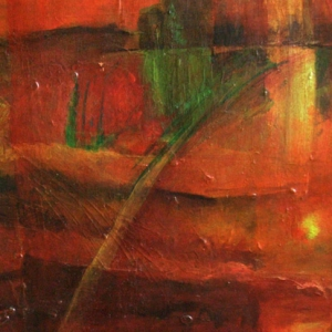 """Größere Ansicht des Bildes """"Vier Sonnenuntergänge"""""""