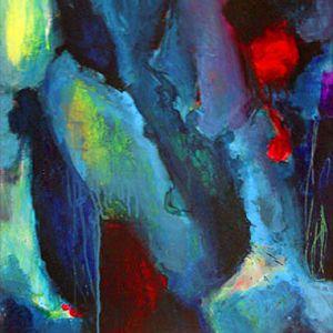 """Größere Ansicht des Bildes """"Kozmic Blue(s)"""""""