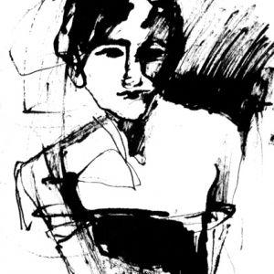 """Größere Ansicht des Bildes """"Her Golden Twenties II"""""""